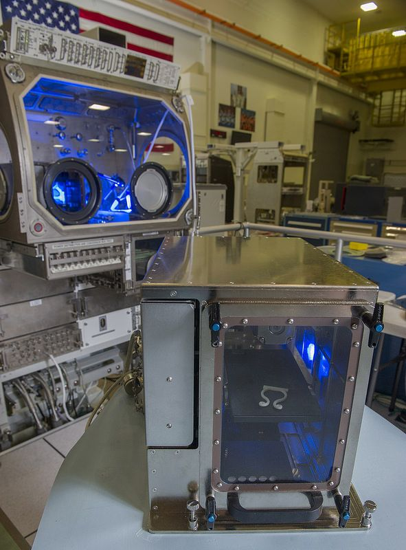 NASA Sends First 3-D Printer to Space Station (NASA, International Space Station, 09/18/14)