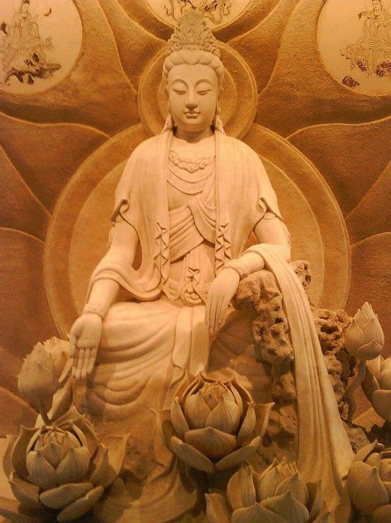 Kuan Yin. She who hears the cries of the world.