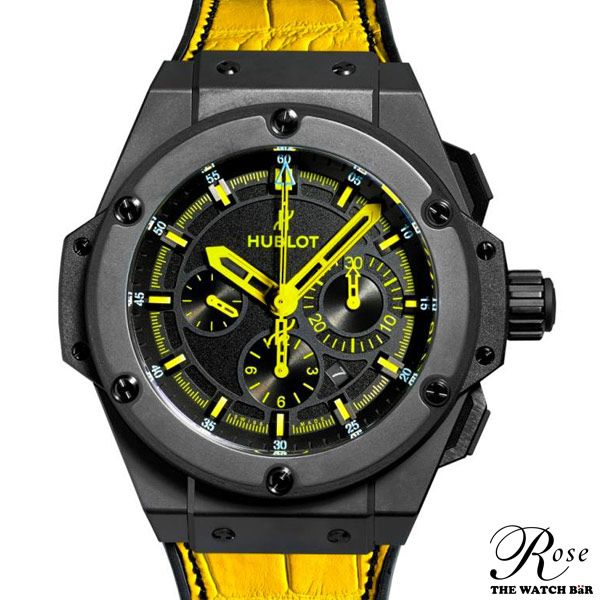 #Hublot launches the limited edition King Power 692 Bang, a piece exclusive to the brand's 692 Madison Avenue flagship boutique in New York City.   Limited to 26 pieces, the King Power 692 Bang is available in black ceramic and includes interchangeable yellow and black straps, inspired by the colors of the iconic #NYC Taxi Cab