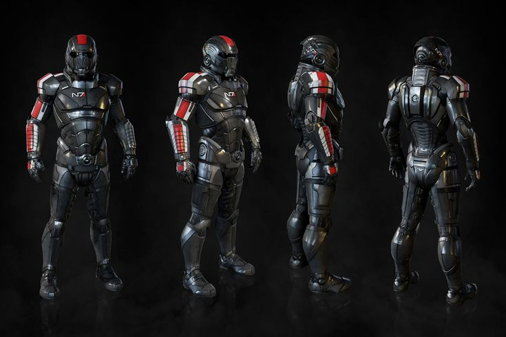 N7 Armor Mass Effect Andromeda: N7 Armor From Mass Effect: Andromeda