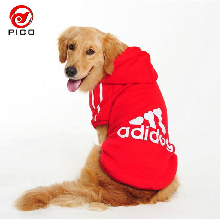 2016 winter autumn cotton large dog clothes big dogs coats pitbull clothing Elastic puppy Hoodie XS-9XL Free Shipping ZL245. Yesterday's price: US $7.82 (6.40 EUR). Today's price: US $4.69 (3.84 EUR). Discount: 40%.