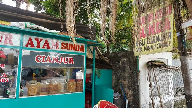 PANDA JAJAN: [Food & Resto] Bubur Sunda Cianjur Danau Cinere