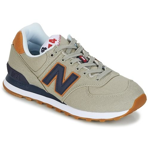 pretty nice 67135 76b7a Chaussures Baskets basses New Balance ML574 Gris