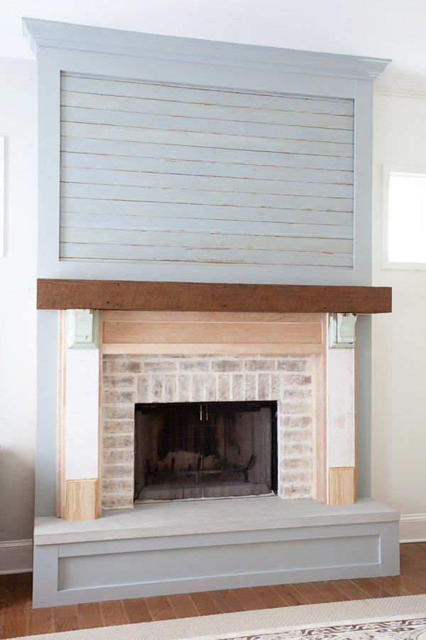 Farmhouse Fireplace | In Progress
