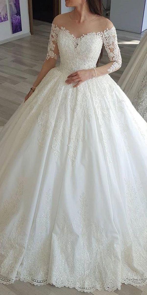 Designer Bridesmaid Dresses Petite Wedding Dresses Cheap Wedding Gowns Nea Long Sleeve Ball Gown Wedding Dress Wedding Dress Sleeves Long Sleeve Ball Gowns