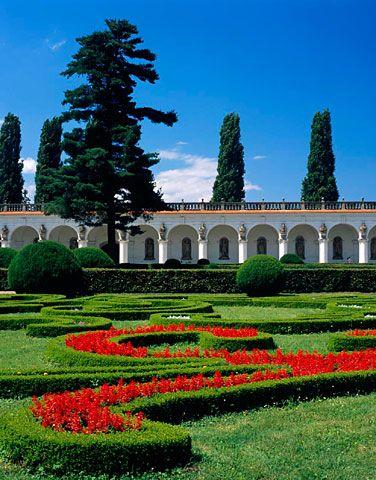 Květná zahrada - kolonáda, Kroměříž