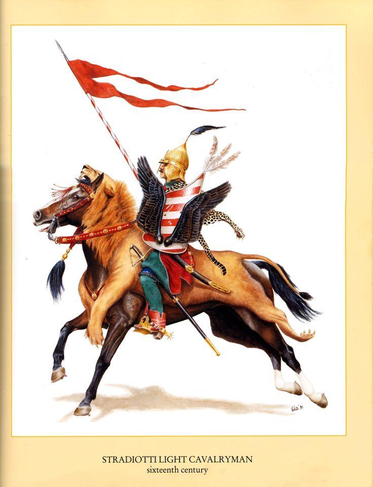 Husarz z drugiej połowy XVIw