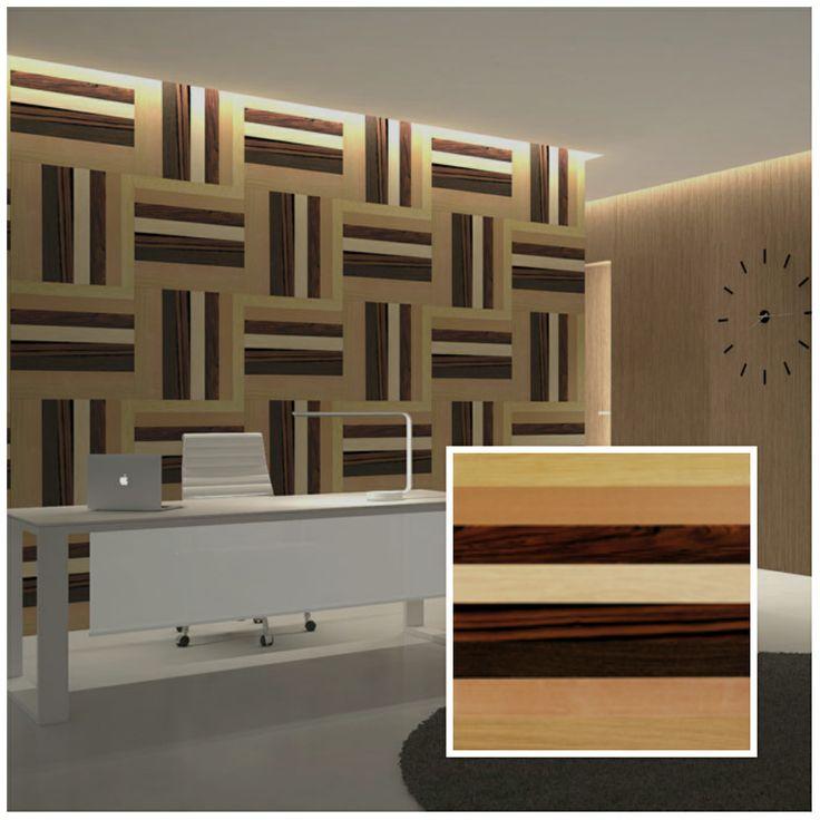 paneles de madera reciclada join us para paredes en tableros de x