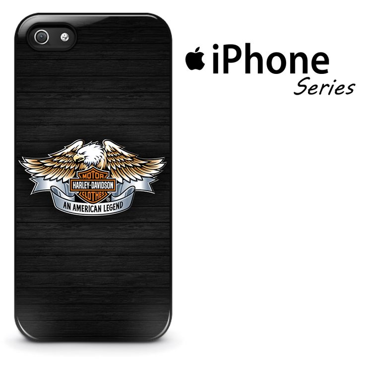 Harley Davidson Eagle Logo Phone Case | Apple iPhone 4/4s 5/5s 5c 6 6 Plus Samsung Galaxy S3 S4 S5 S6 S6 Edge Samsung Galaxy Note 3 4 5 Hard Case
