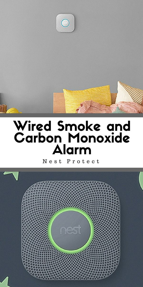 Nest Protect's Second Wired Smoke and Carbon Monoxide Alarm will speak its warning if it detects smoke or CO in the air and where it is coming from. This is extremely useful and beneficial for your home | cleaning tips | cleaning home | cleaning room | cleaning hacks #Ad