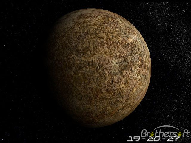 mercury planet size and color - photo #11