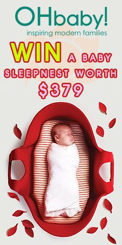 #RePin and #Win a #Baby Sleepnest! #competition