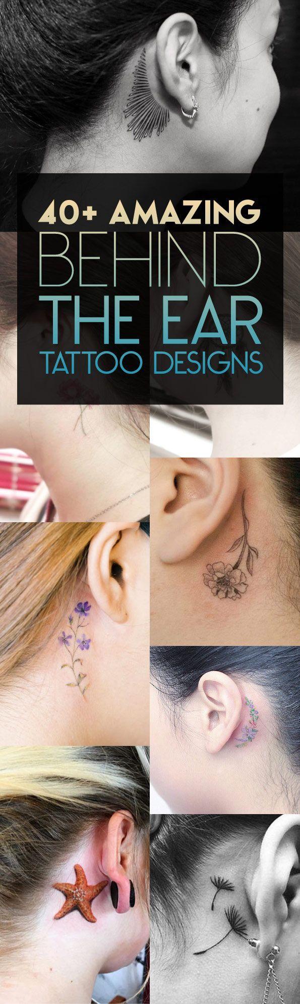 Chiquis Rivera Tattoo Behind Ear