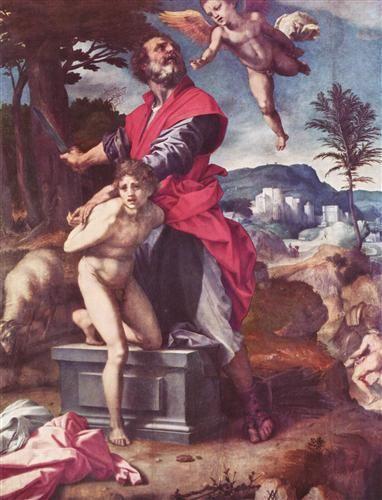 The Sacrifice of Abraham - Andrea del Sarto - Gemäldegalerie Alte Meister (Dresde)