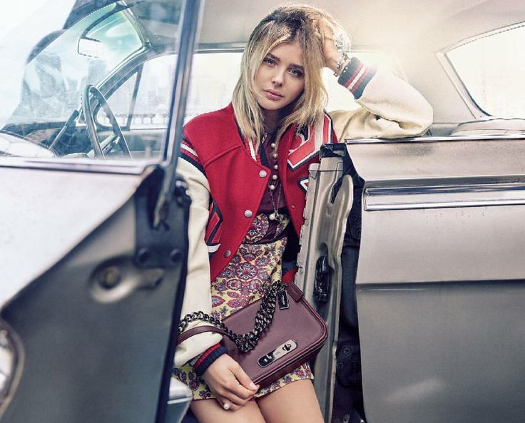Chloë Moretz for Coach, Fall/Winter 2016