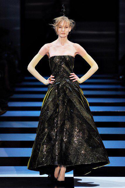 Armani Privé | Spring 2012 Couture Collection | Vogue Runway