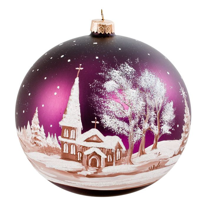 Hand Painted Christmas Ornaments Pinterest