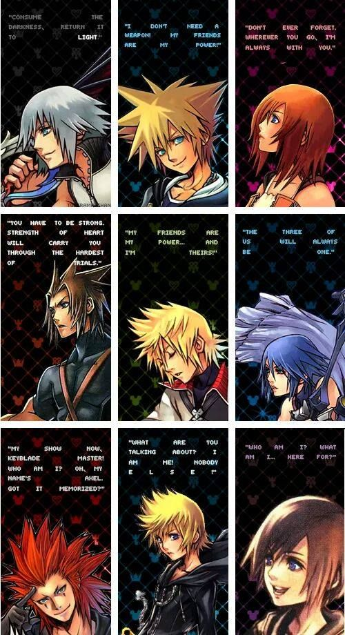 Kingdom Hearts quotes