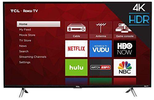 TCL 43S405 43-Inch 4K Ultra HD Roku Smart    http://techgifts.mobi/shop/tcl-43s405-43-inch-4k-ultra-hd-roku-smart/