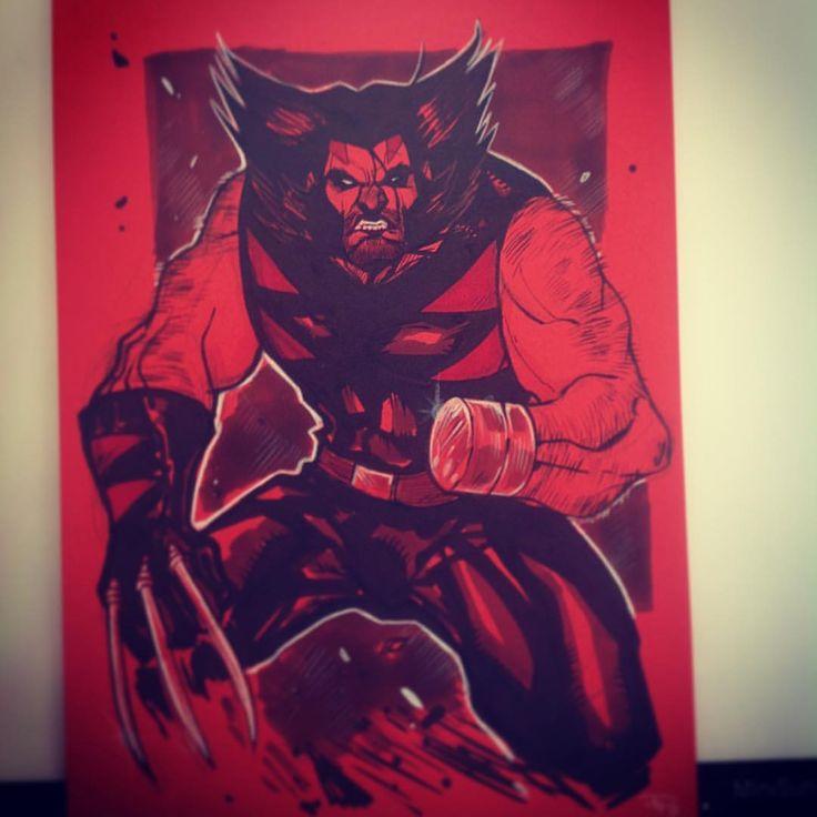 Wolverine - Age of Apocalypse by Denis Medri #denismedri #xmen #wolverine #logan #ageofapocalypse #sketch