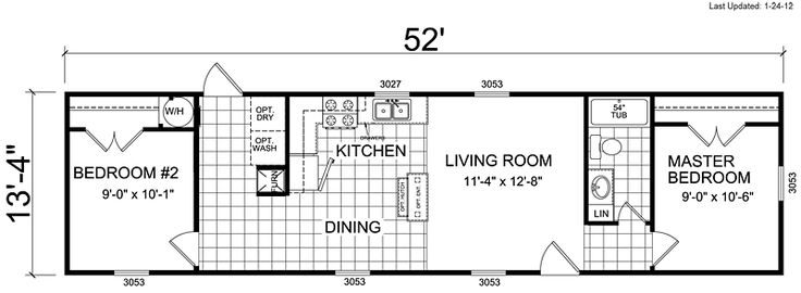 Clayton Double Wide Mobile Homes Floor Plans Single Wide