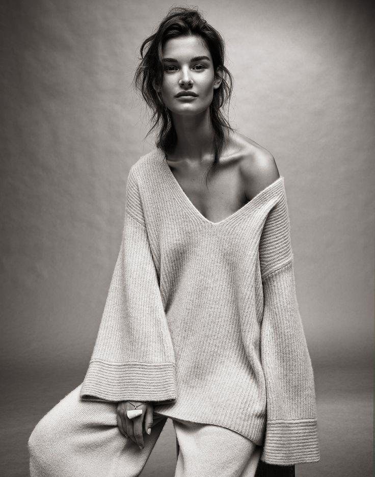 Decorialab knitwear Studio www.decorialab.com — (via Ophelie Guillermand | models.com MDX)