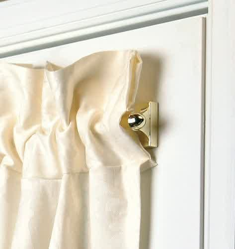 Curtain Rods best way to install curtain rods : 17 Best ideas about Magnetic Curtain Rods on Pinterest | Door ...