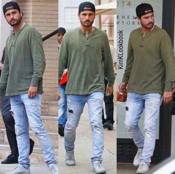 Scott disick street style | Kourtney Kardashian ...