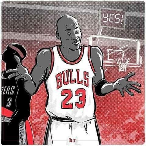MJ shrug