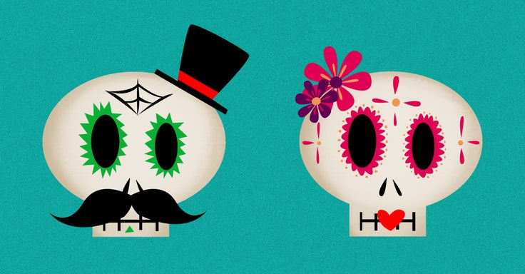 Video tutorial: How to Create a Mexican Skull couple in Adobe Photoshop
