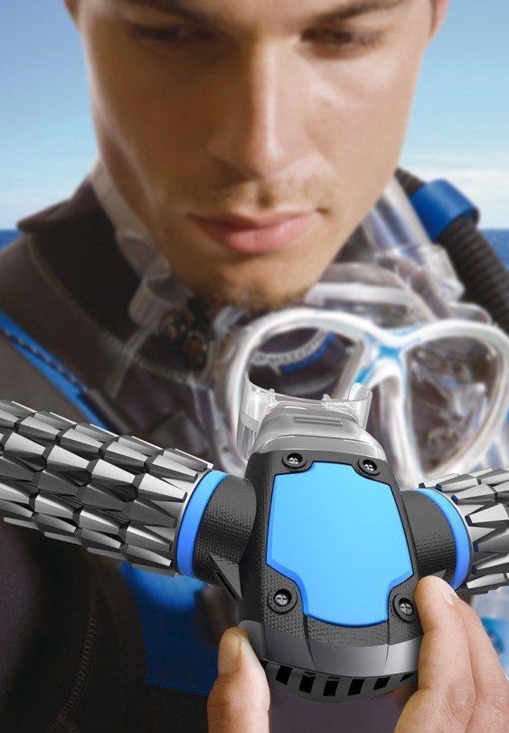 Máscara de oxigênio para mergulho