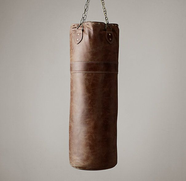 Vintage Leather Punching Bag - HQ