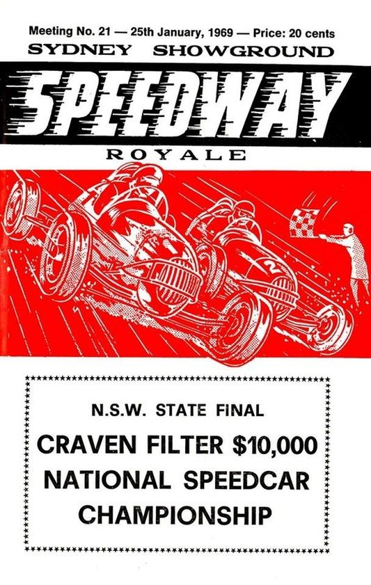 Speedway Royale...The Sydney Showground Speedway...
