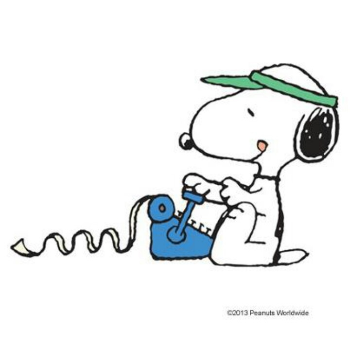 Accountant Snoopy