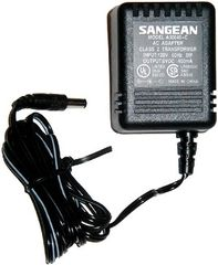 Sangean SPA 6V Power Adaptor | The Listening Post Christchurch and Wellington |