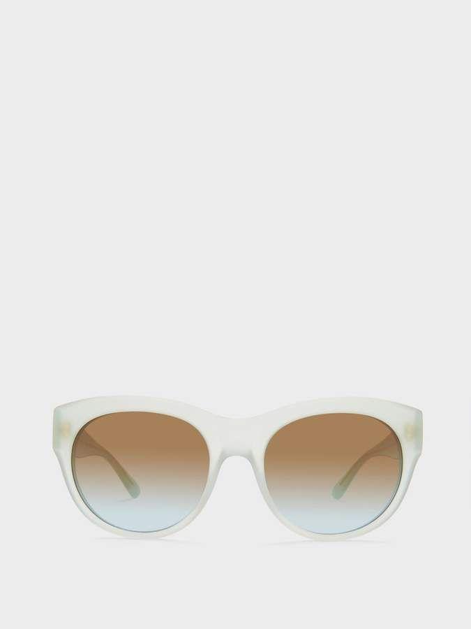 1c2d31496a16 Dkny Round Sunglasses With Tonal Lenses | Women Sunglasses ...