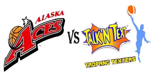 Watch Alaska Aces vs Talk N Text Tropang Texters PBA 2012