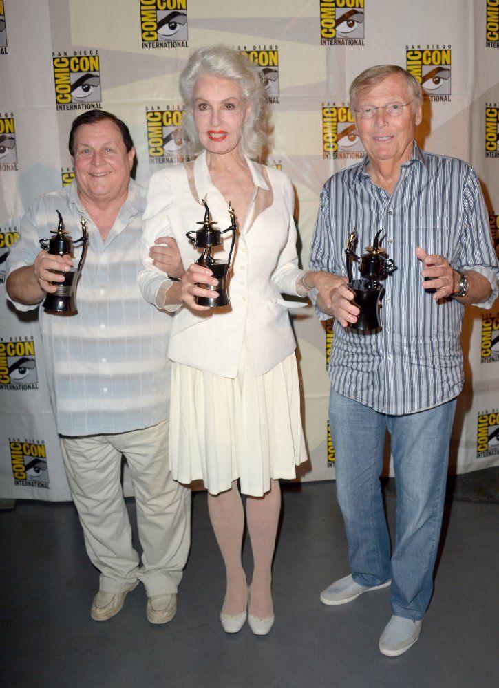 Batman (1966-1968) Burt Ward (Robin) Julie Newmar (Catwoman) Adam West (Batman)
