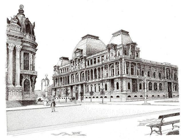 Escola Nacional de Belas Artes - atual Museu Nacional de Belas Artes, Rio de Janeiro