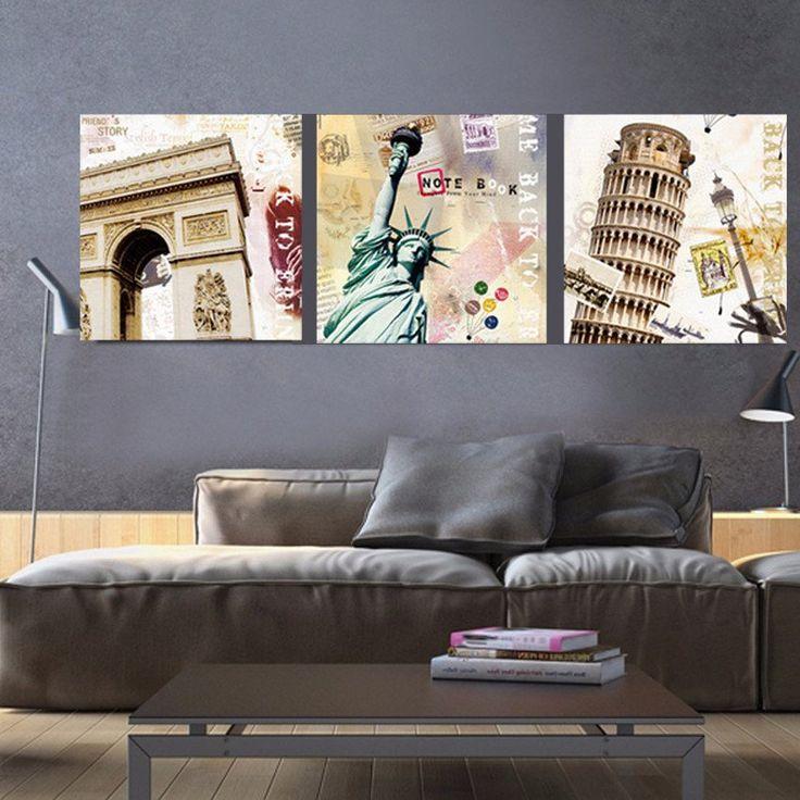 33 best Landscape canvas prints images on Pinterest Canvas - living room statues