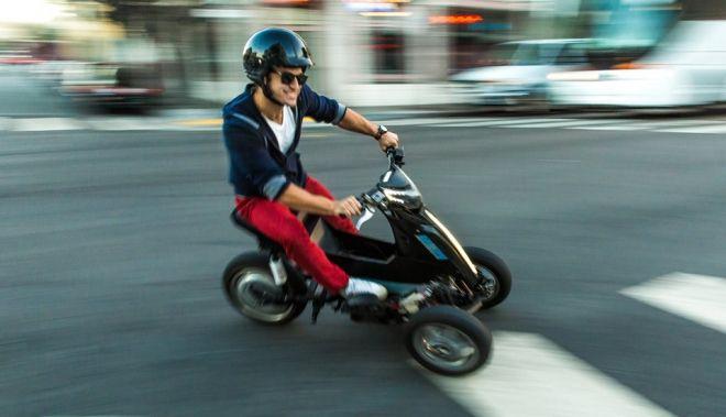 Sway triciclo eléctrico http://buenespacio.es/sway-triciclo-electrico.html #sway #triciclo #moto #electrico #litio