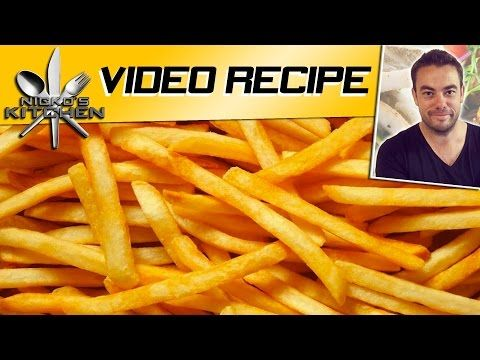 McDonalds French Fries - Homemade - YouTube    Follow these preparation instructions. Then just cook them in your air fryer!