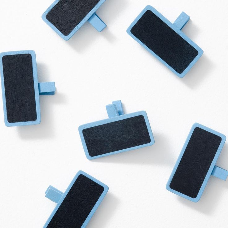 These Mini Chalkboard Photo Pegs are perfect for attaching sweet messages to your super cute snaps. Available in a range of colours, they'll go well with your pics.