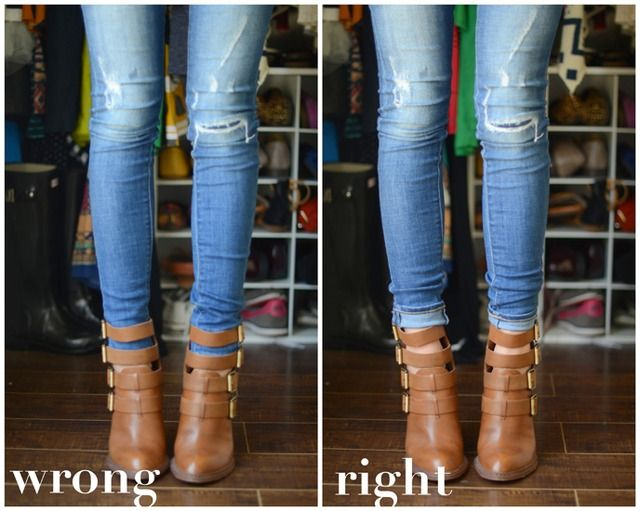 Dos And Don Ts Of Cuffing Your Jeans With Ankle Boots