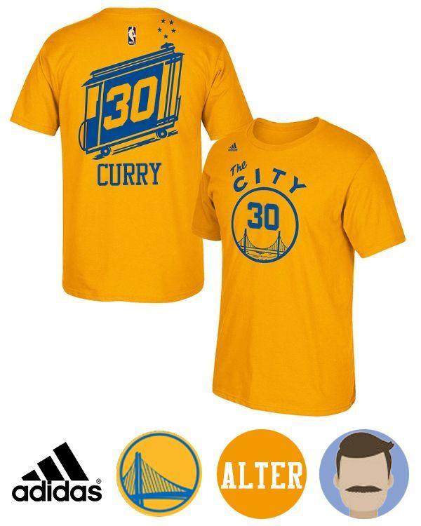 Men's Stephen Curry The City Bus Hardwood Classics T-Shirt