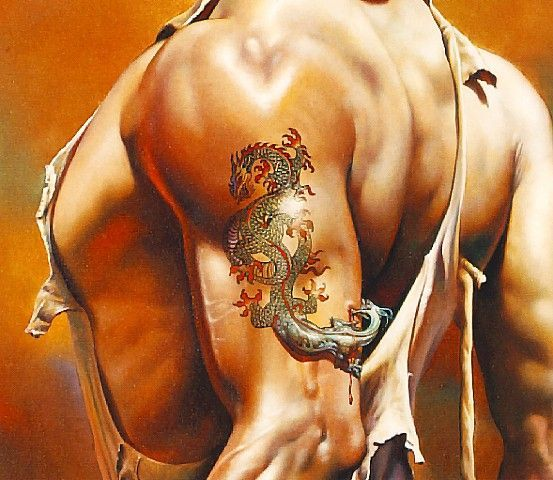 Image result for boris vallejo dragon tattoo