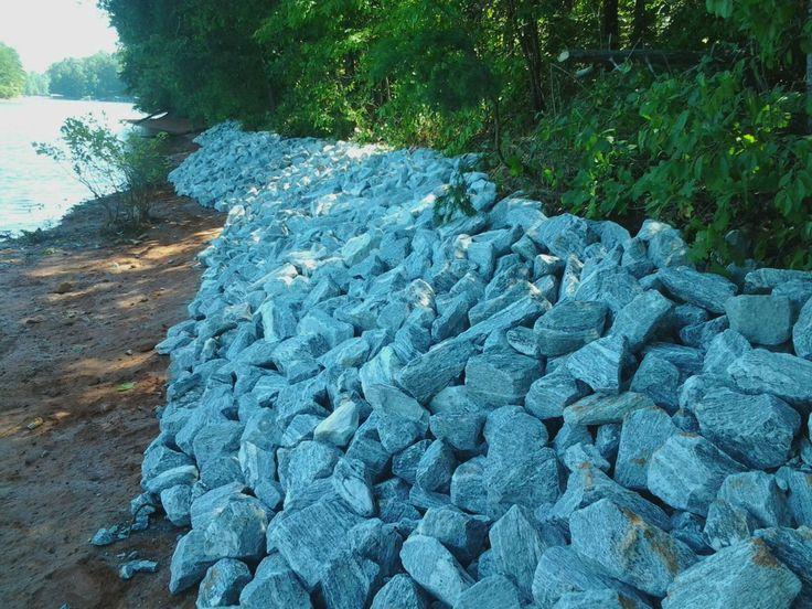 24 best erosion controlrip rap images on pinterest erosion shoreline stabilization kroeger marines rip rap work on lake keowee solutioingenieria Choice Image