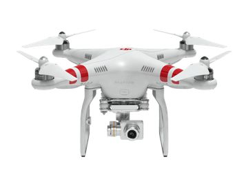DJI Phantom 2 Vission + - GPS Quadcopter with camera gimble makes for amazingly clear aerial video. This is expensive, but has everything built right in from the start.