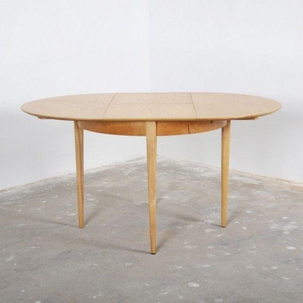 Pastoe tafel, uitschuifbaar