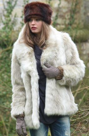 Glam Winter coat from Ruby and Ed